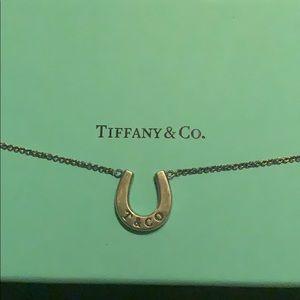 Tiffany & Co horseshoe necklace